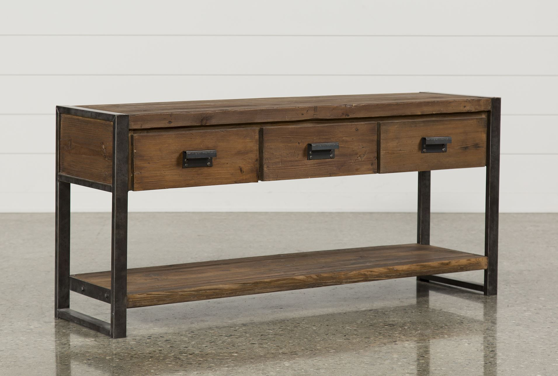 Harper console table living spaces for Living spaces sofa table