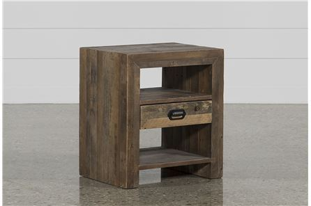 Tahoe II 1-Drawer End Table - Main