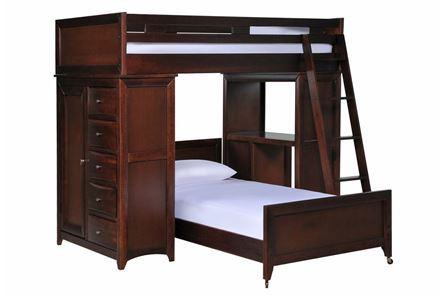 Varsity Cherry Loft Bed