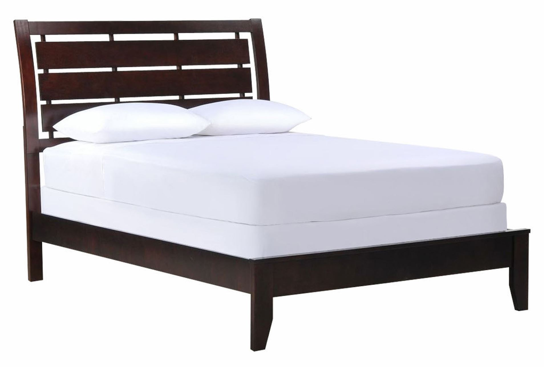 Chad full panel bed living spaces for Living spaces full bed