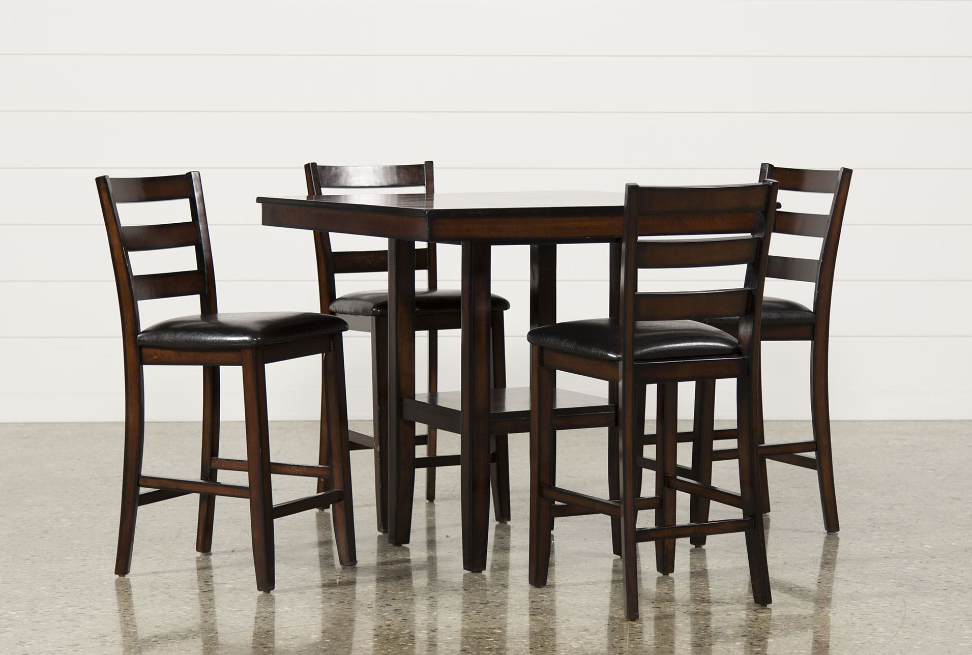 Jameson 5 piece counter set living spaces for Living room 5 piece sets