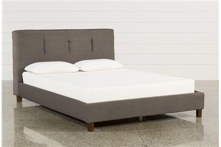 Masterton Queen Upholstered Platform Bed - Main
