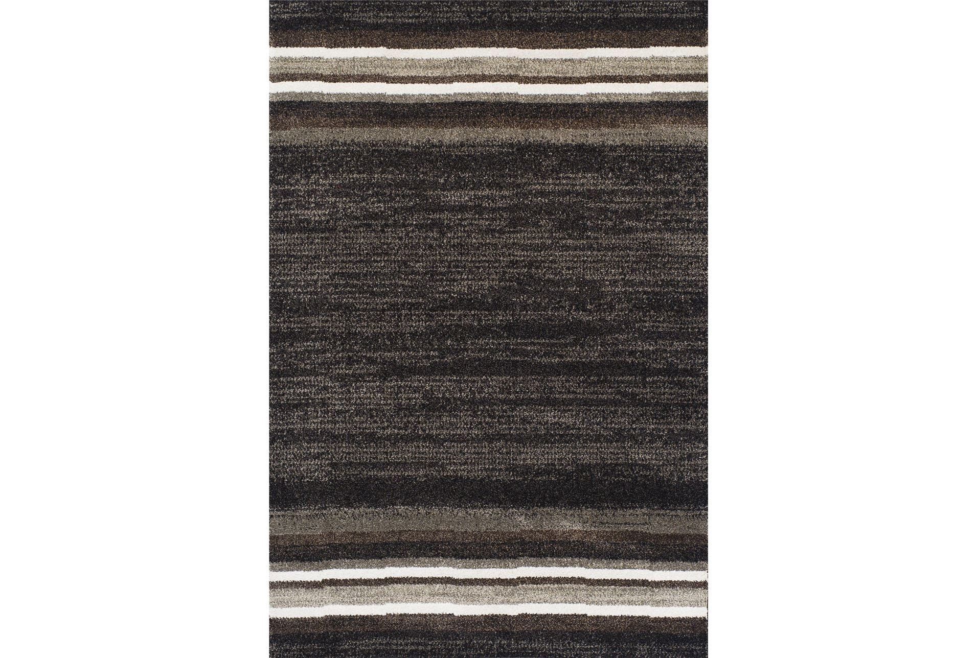 94x127 rug fennel midnight stripe living spaces for Living spaces rugs