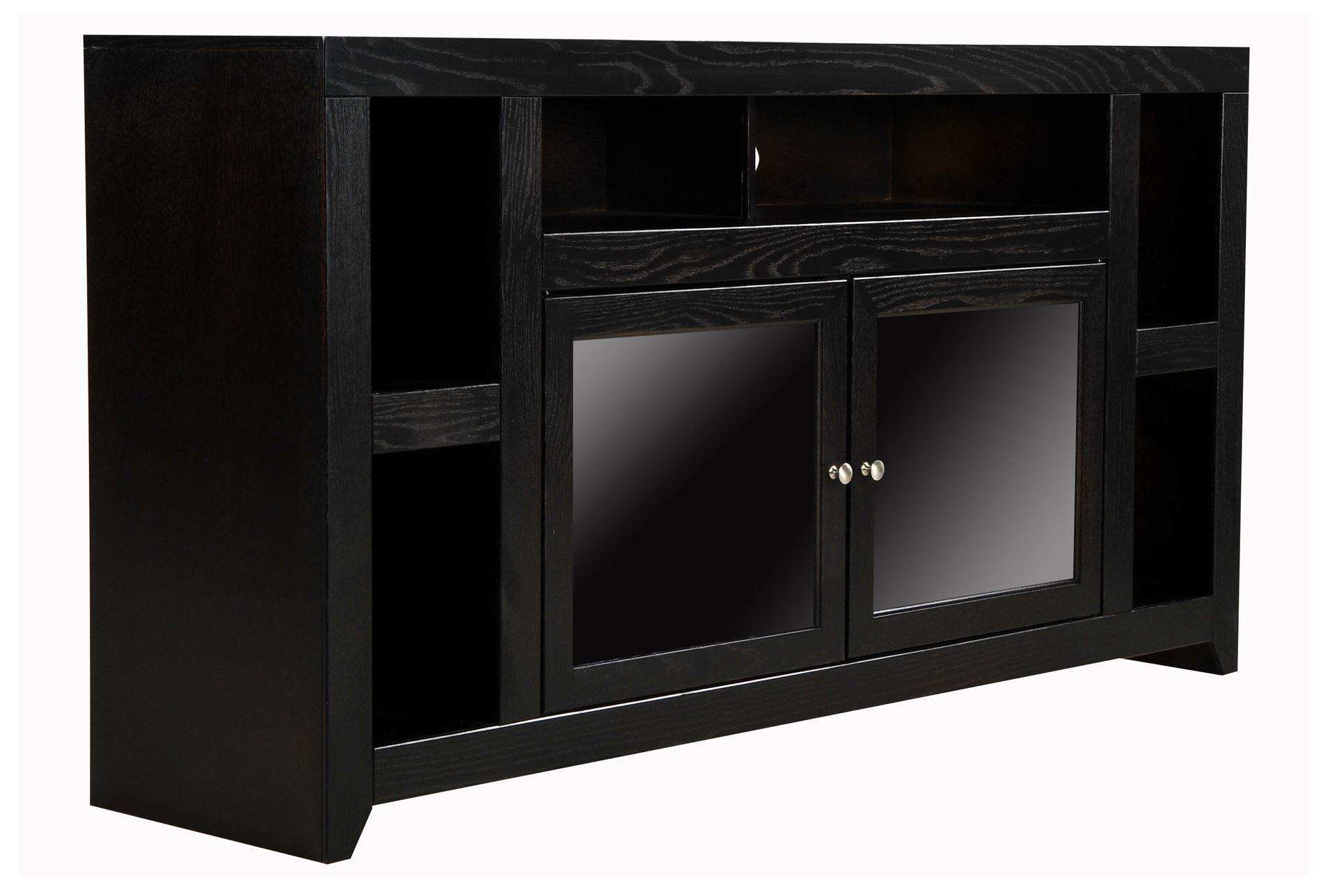 xavier 65 inch tv console living spaces. Black Bedroom Furniture Sets. Home Design Ideas