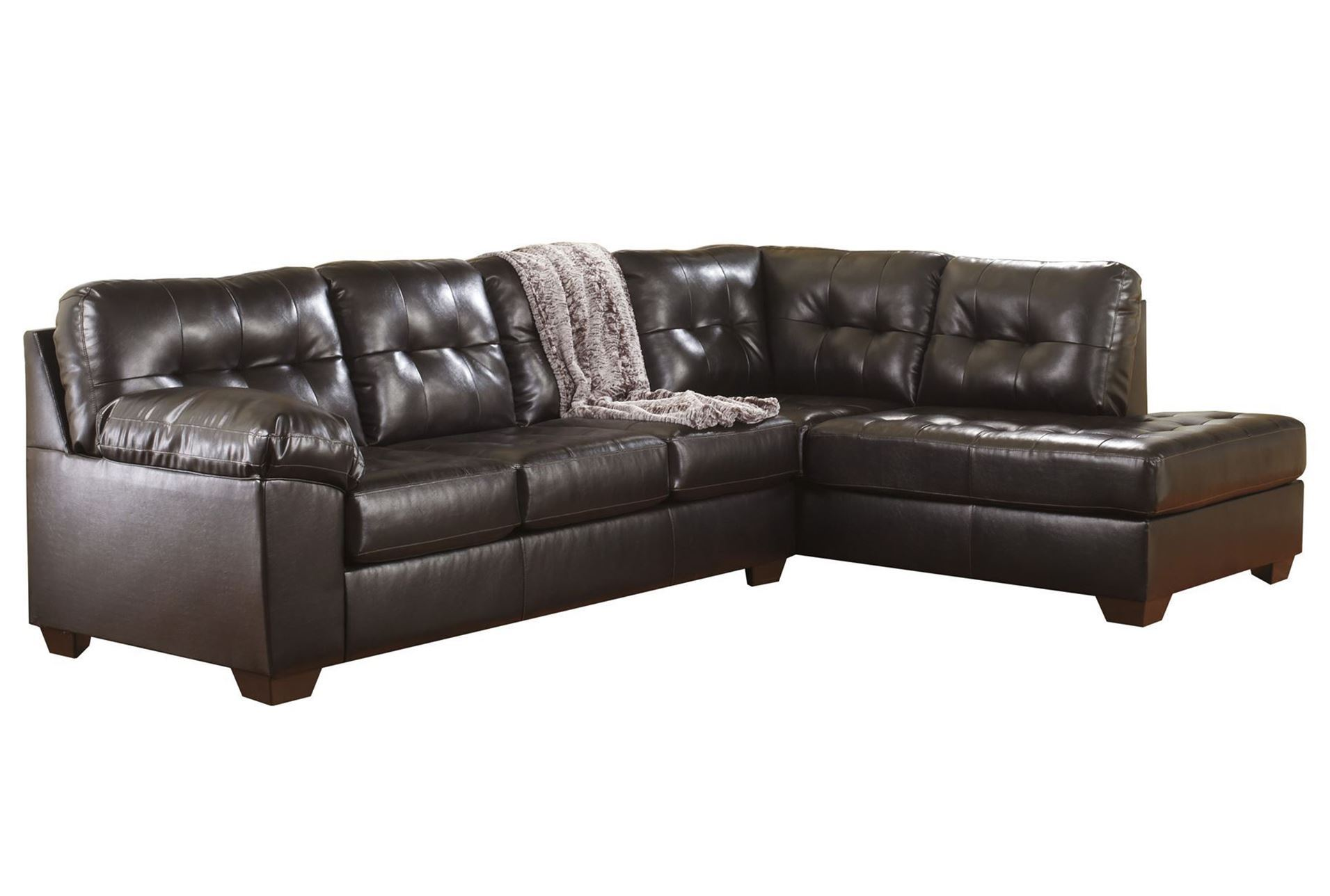 2 piece sectional living spaces for 2 piece chaise sectional