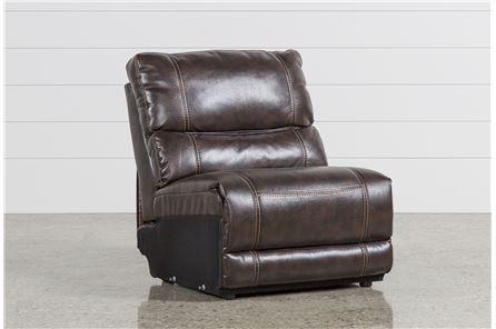 Marx Nutmeg Armless Chair - Main