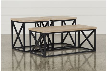 Helene 3 In 1 Pack Tables