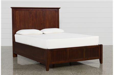 Copenhagen Brown Eastern King Panel Bed - Main