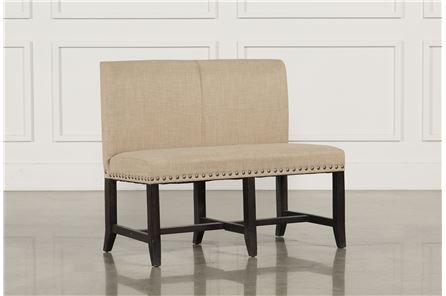 Jaxon Upholstered High-Back Bench - Main