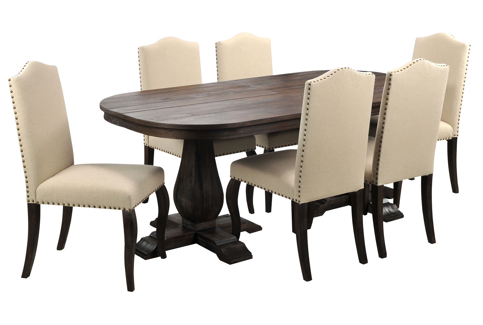 93 X Dining Room Set.Two Tone Wood Dining Table. 100 Coffee Table ...