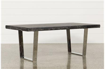 Bateau Grey Dining Table - Main