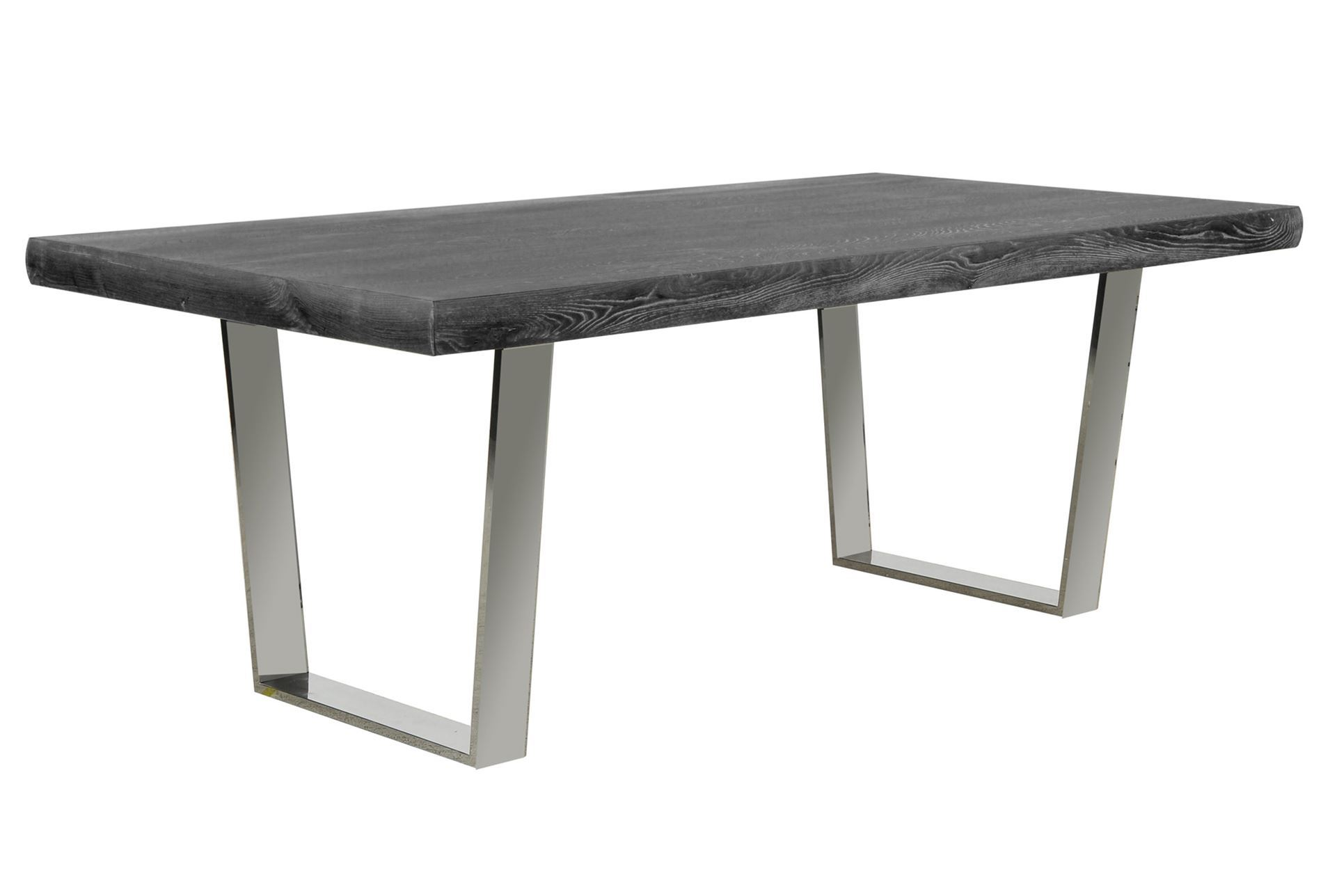 Bateau Grey Dining Table Living Spaces