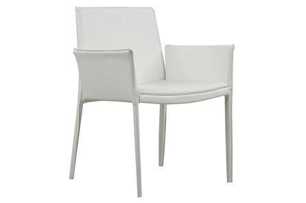 Carino White Side Chair - Main