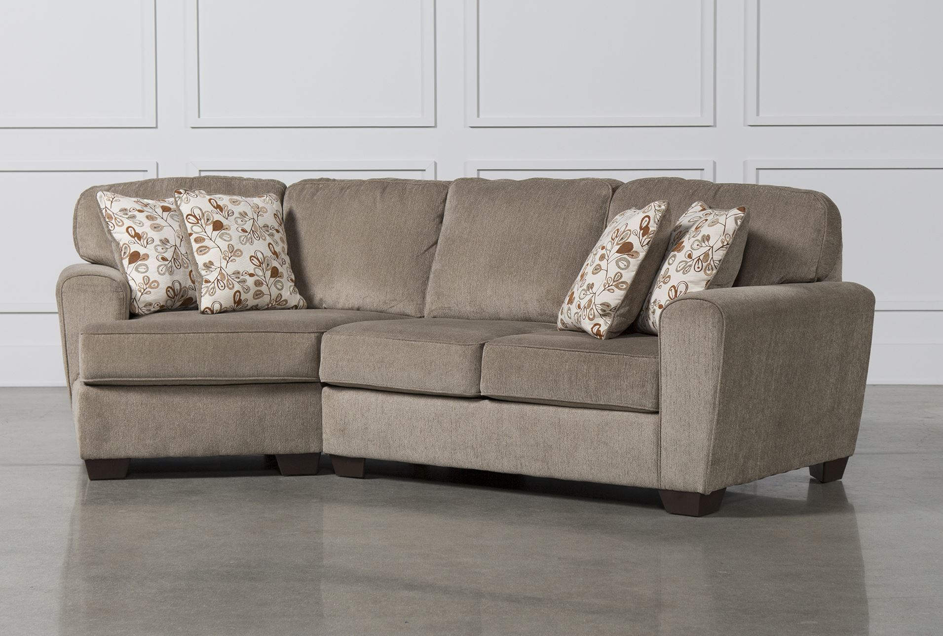 Patola park 2 piece sectional w laf cuddler chaise for Sectional sofa with cuddler and chaise