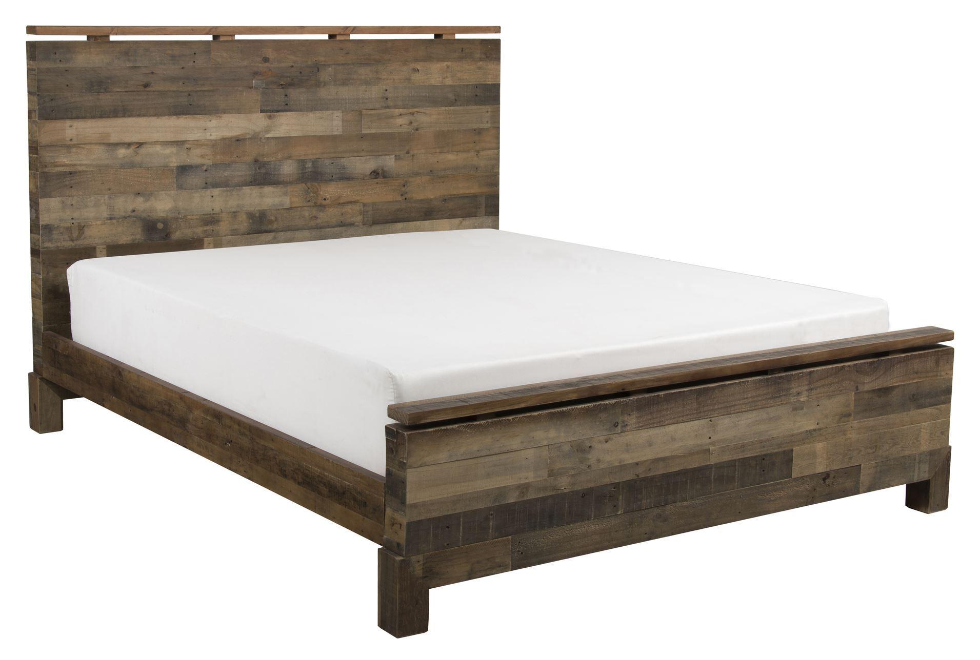 Atticus Eastern King Platform Bed Living Spaces