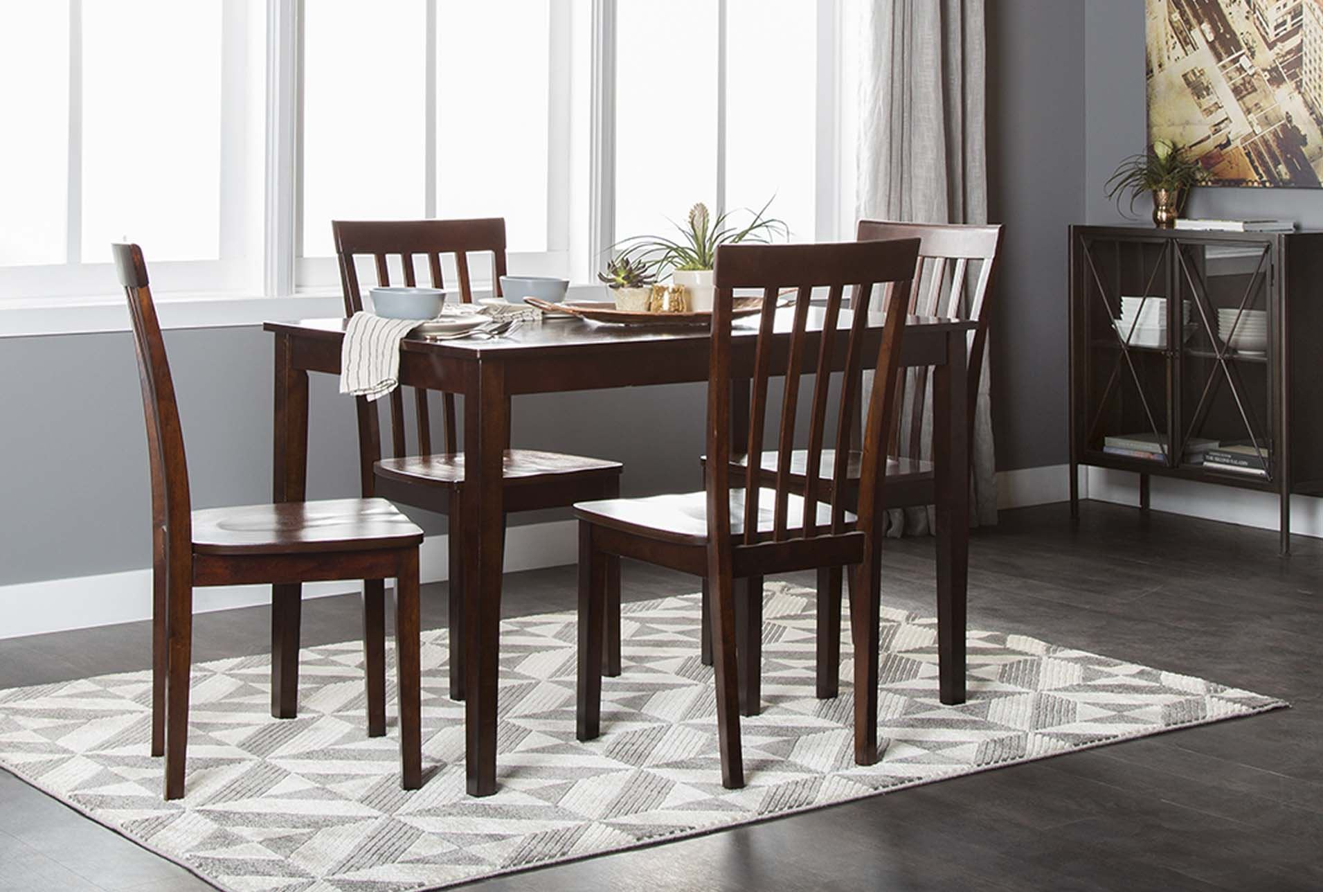 Carson ii 5 piece dining set living spaces for 10 piece living room set
