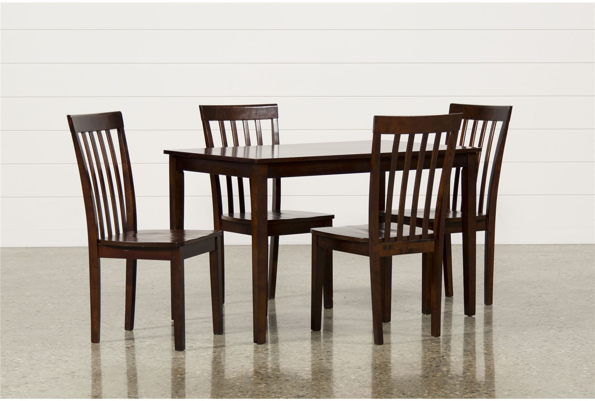 Carson ii 5 piece dining set living spaces - Piece dining set small spaces plan ...