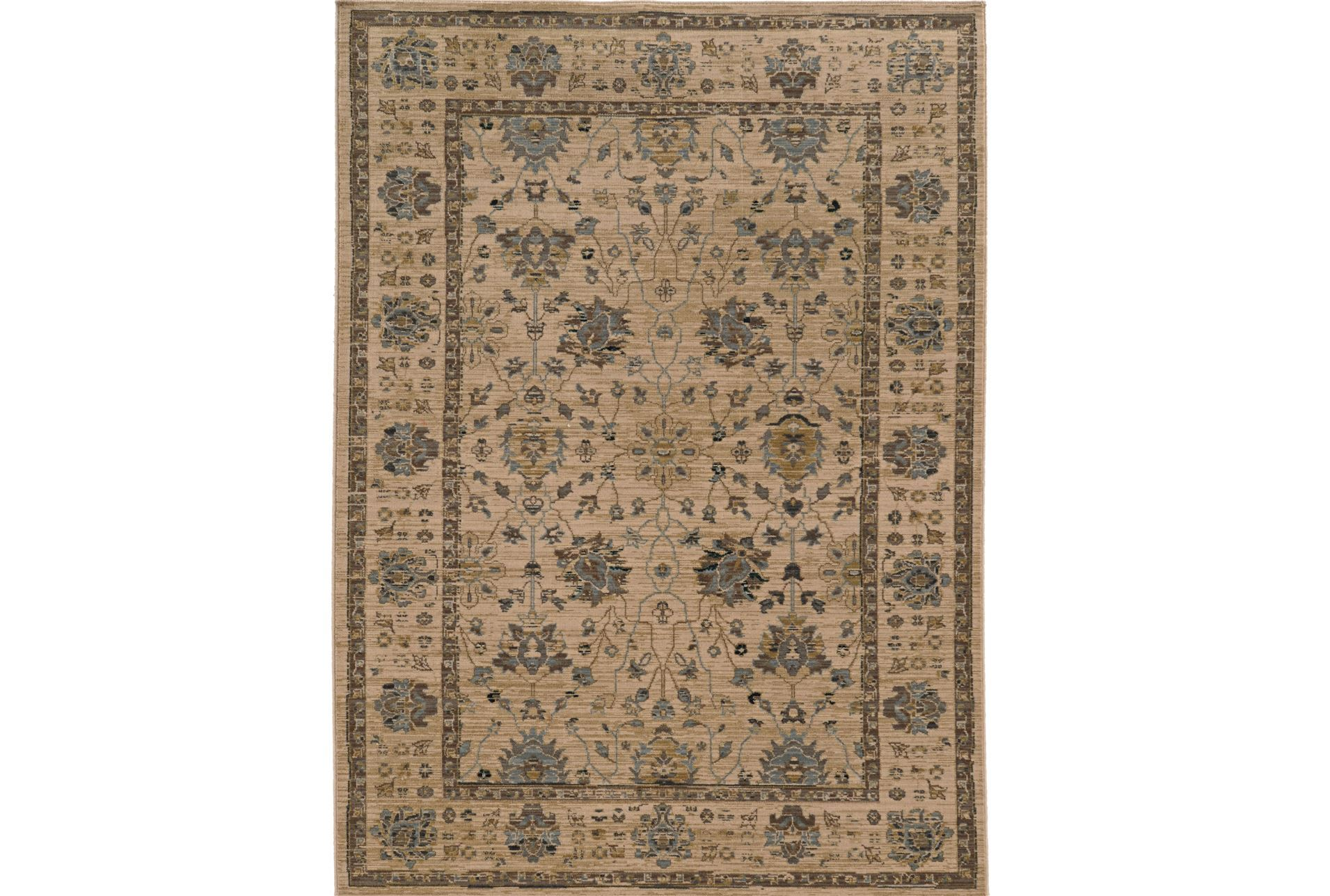 94x130 rug carrington traditions living spaces for Living spaces rugs