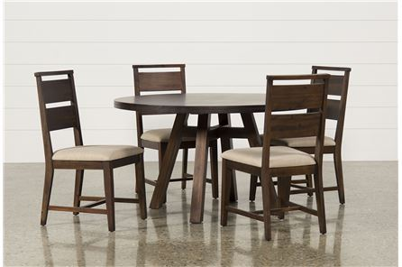 Blake II 5 Piece Round Dining Set - Main