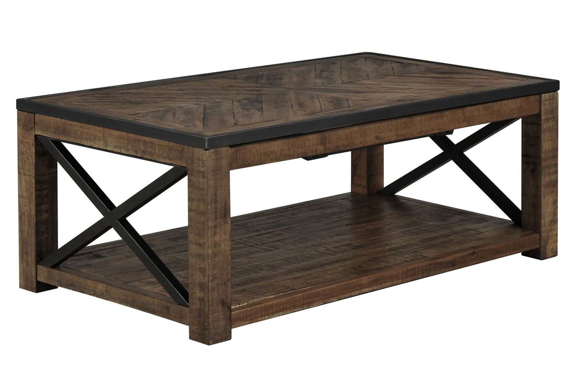 Tillman Rectangle Lift Top Cocktail Table Living Spaces