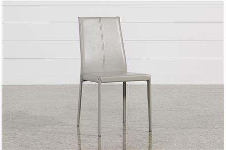 Renata Grey Side Chair - Main