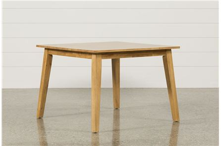 Sandy Honey Square Dining Table
