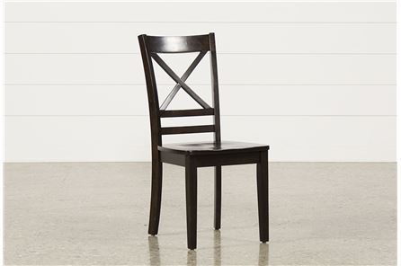 Roxy Espresso Side Chair - Main