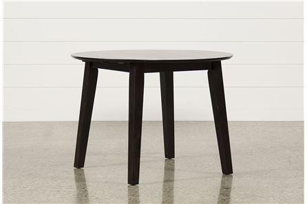 Roxy Espresso Round Dining Table - Main
