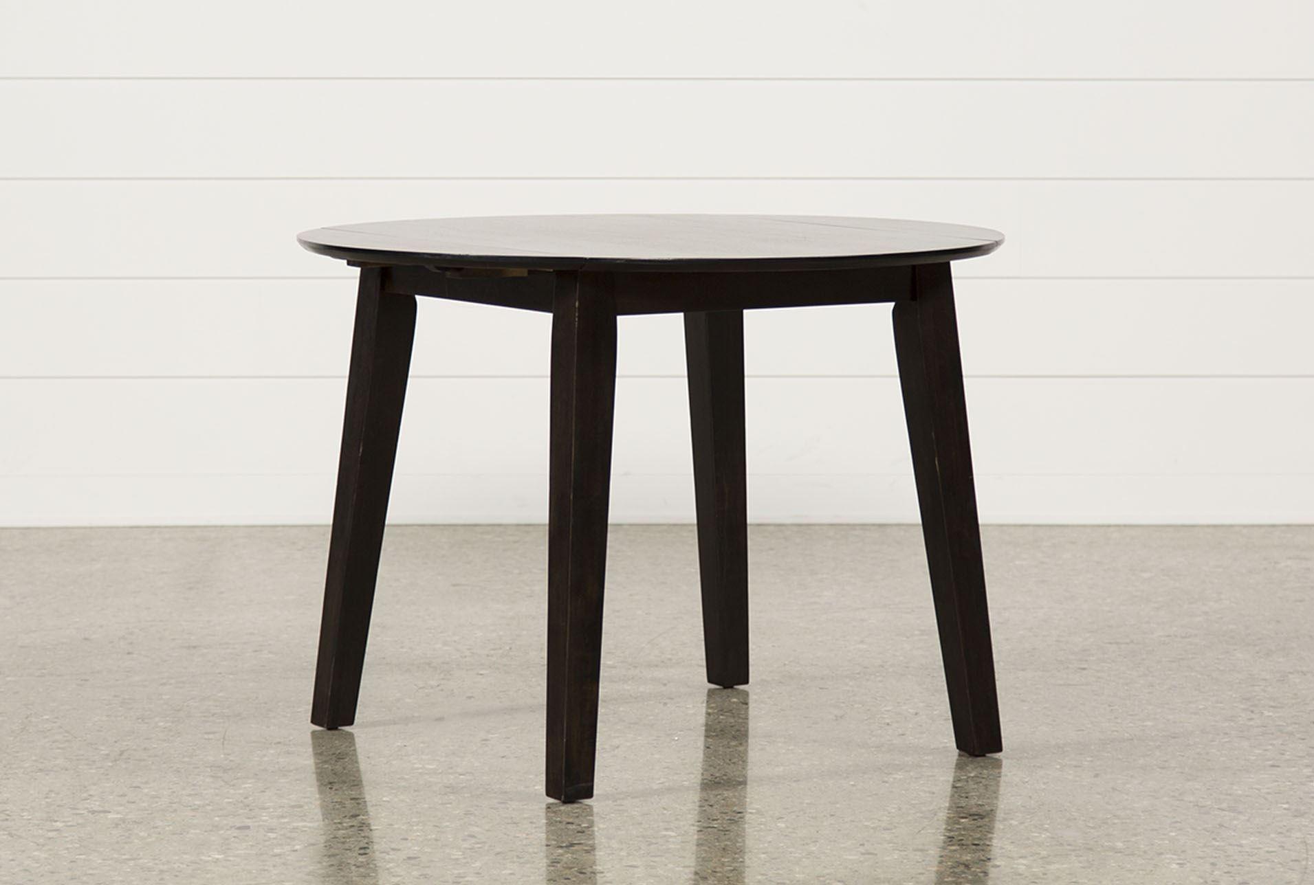 PreloadRoxy Espresso Round Dining Table Signature