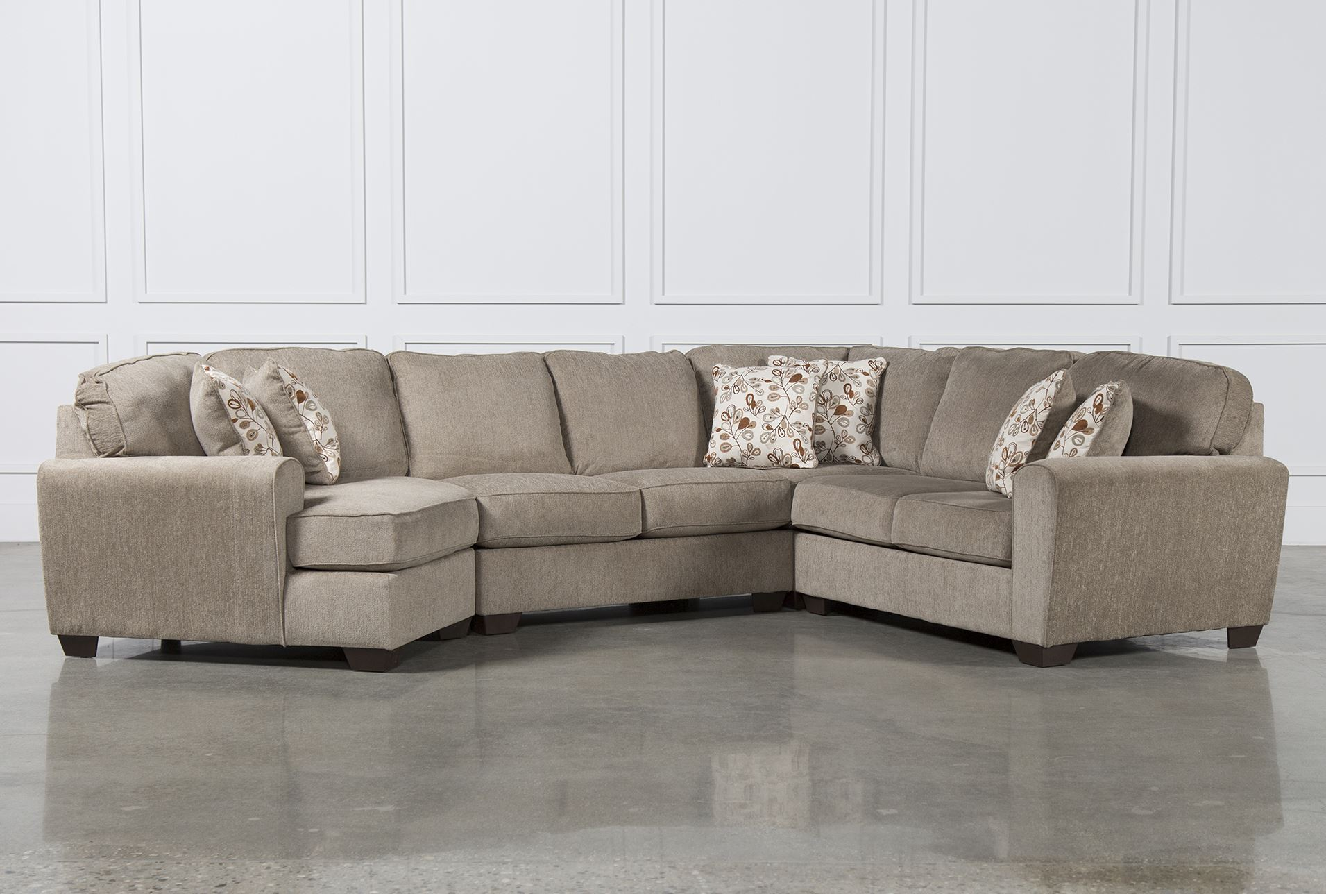 Patola Park 4 Piece Sectional W Laf Cuddler Living Spaces