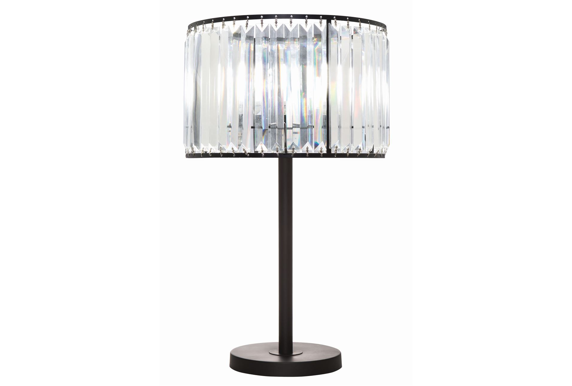 Table Lamp Wells Crystal Living Spaces