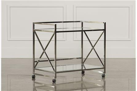 X Frame Bar Cart - Main
