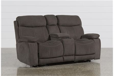 Colt Power Reclining Loveseat W/Console - Main