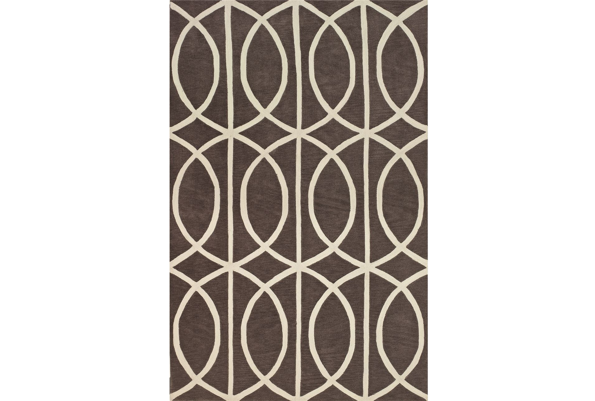 108x156 rug infinity grey living spaces for Living spaces rugs