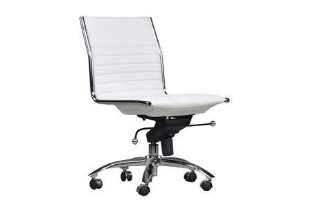 Fraser White Office Chair Signature