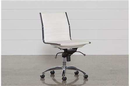 Fraser White Office Chair - Main
