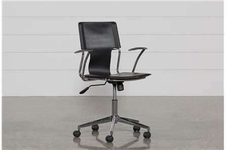 Miley Black Office Chair - Main