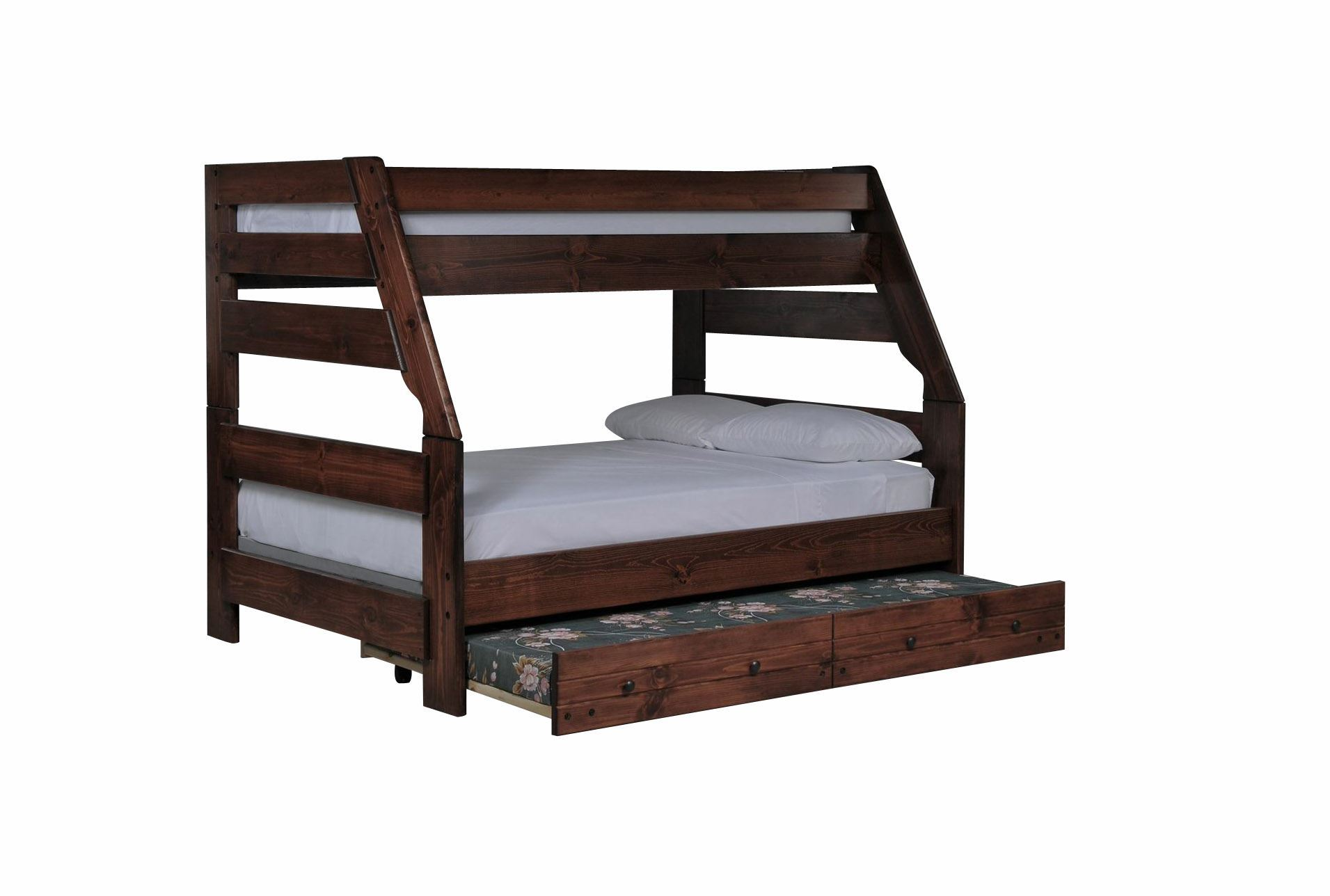 Sedona Twin Full Bunk Bed W Trundle Mattress Living Spaces