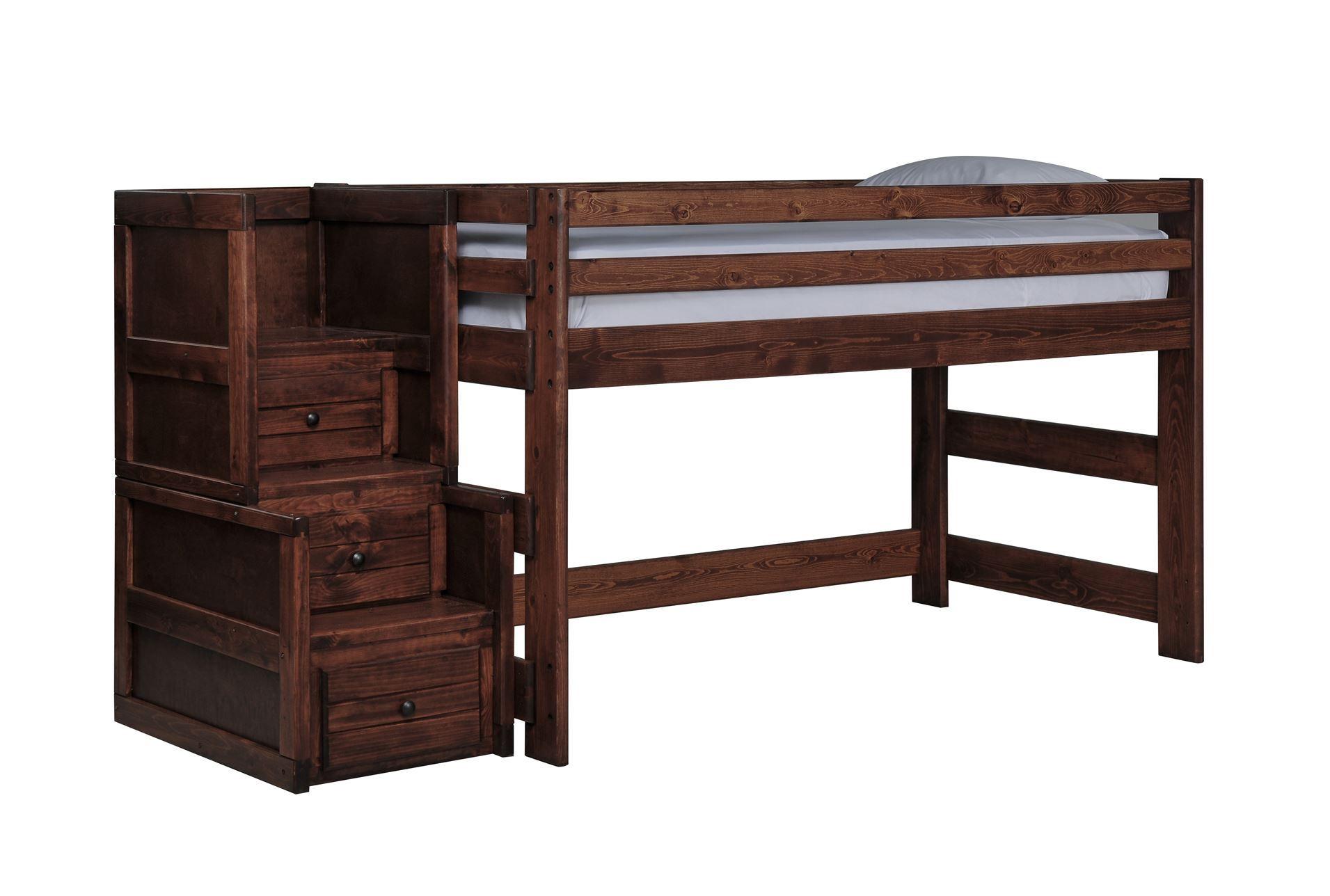 Sedona Junior Loft Bed W Junior Stair Chest Living Spaces