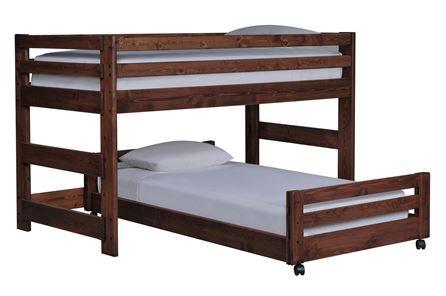 Sedona Junior Loft Bed W/Twin Caster Bed