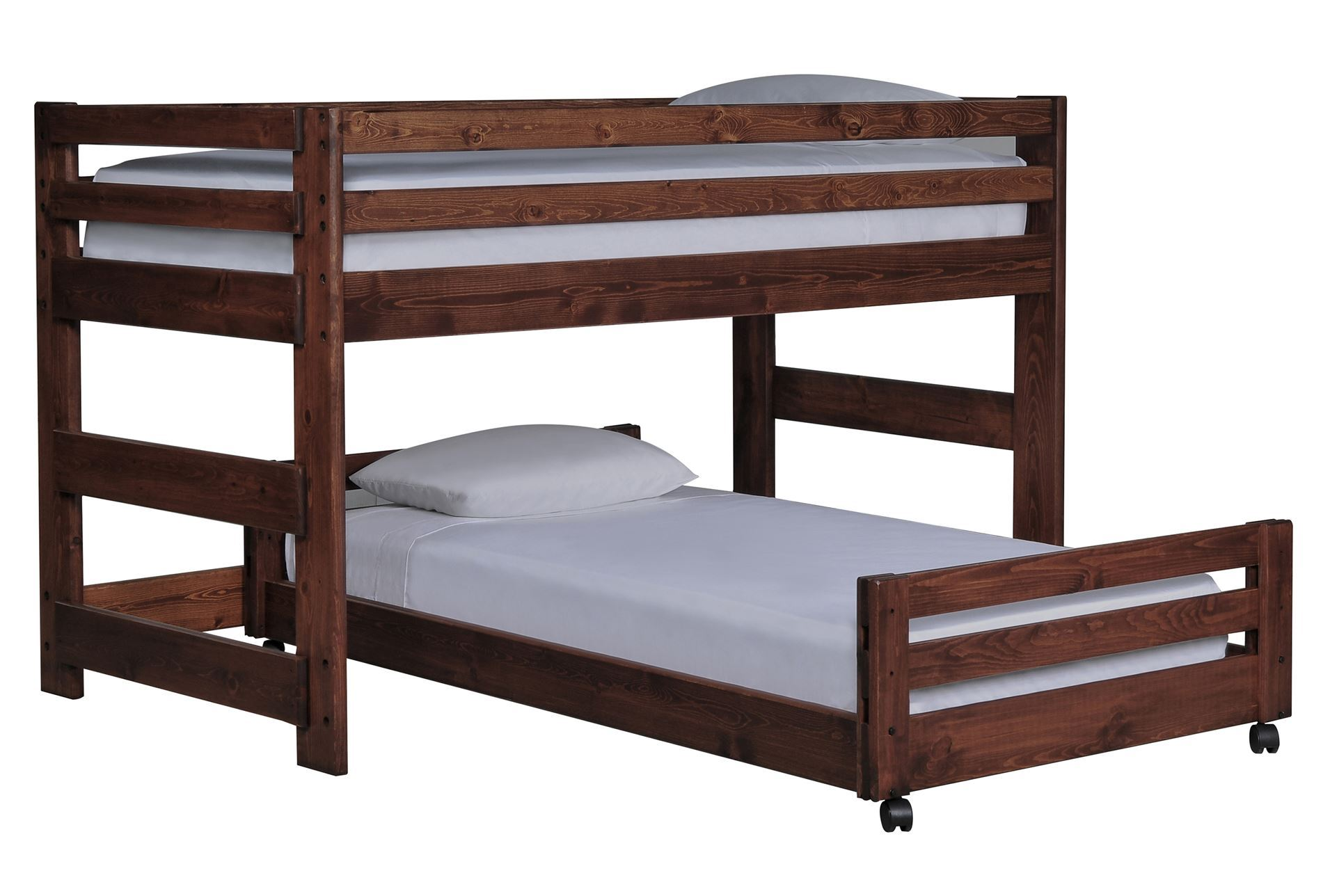 Sedona junior loft bed w twin caster bed living spaces for Junior bunk bed