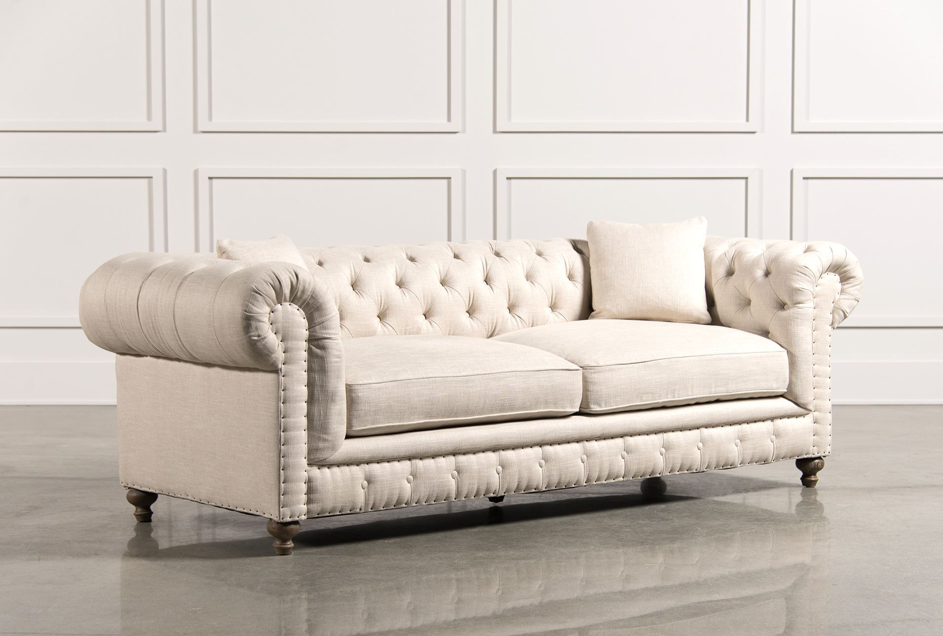 Rutherford sofa living spaces for Living spaces couches