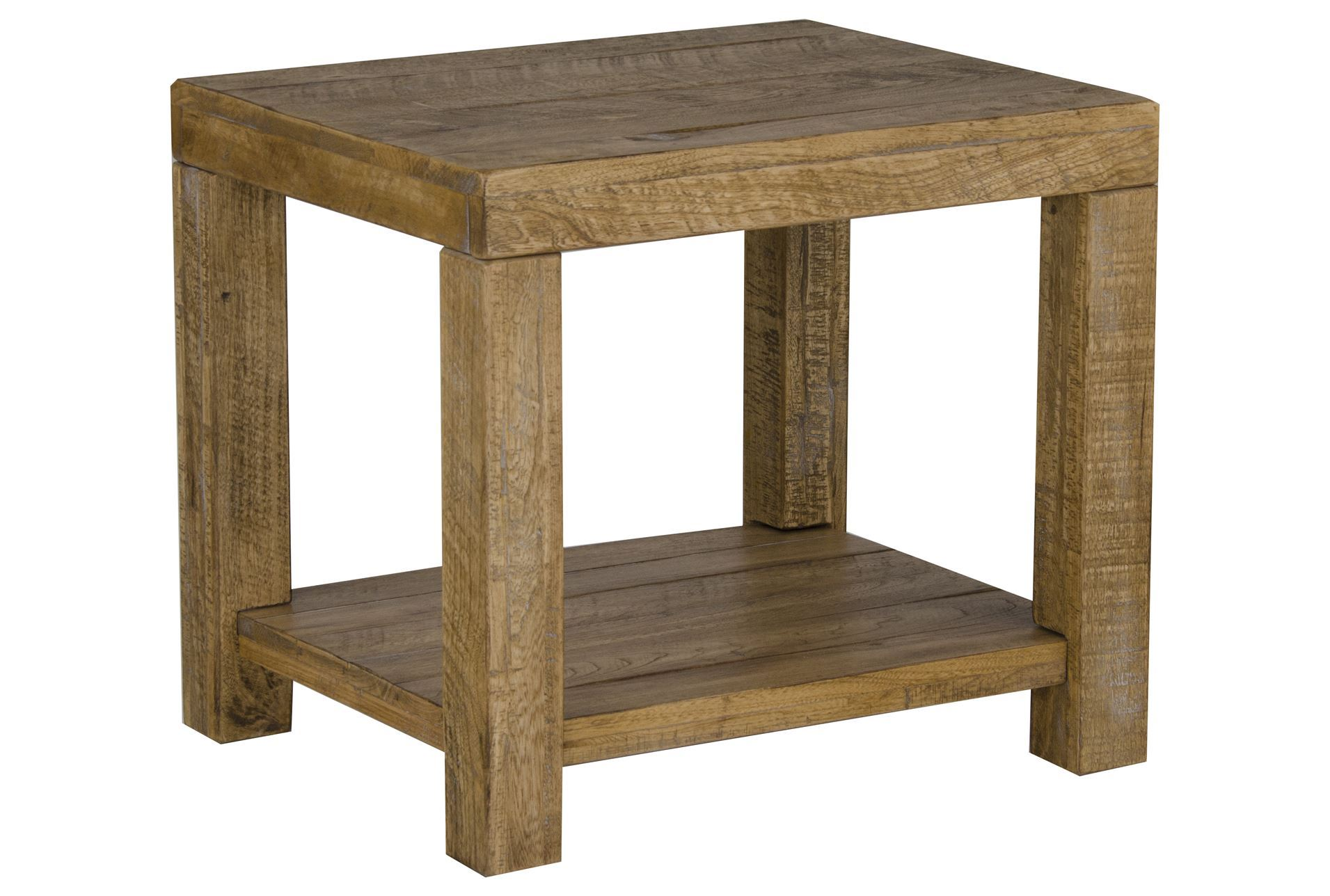 Living Room Wood End Table Living Spaces