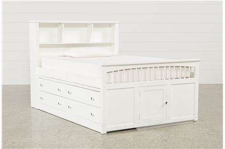 Bayfront Full Captains Bed W/Double 4-Drawer Unit - Main