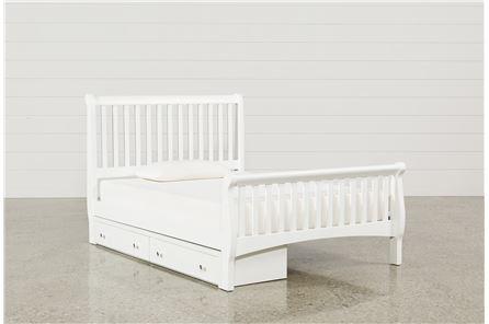 Bayfront Full Sleigh Bed W/Single 2-Drawer Storage Unit - Main
