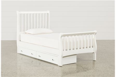 Bayfront Twin Sleigh Bed W/Single 2-Drawer Storage Unit - Main