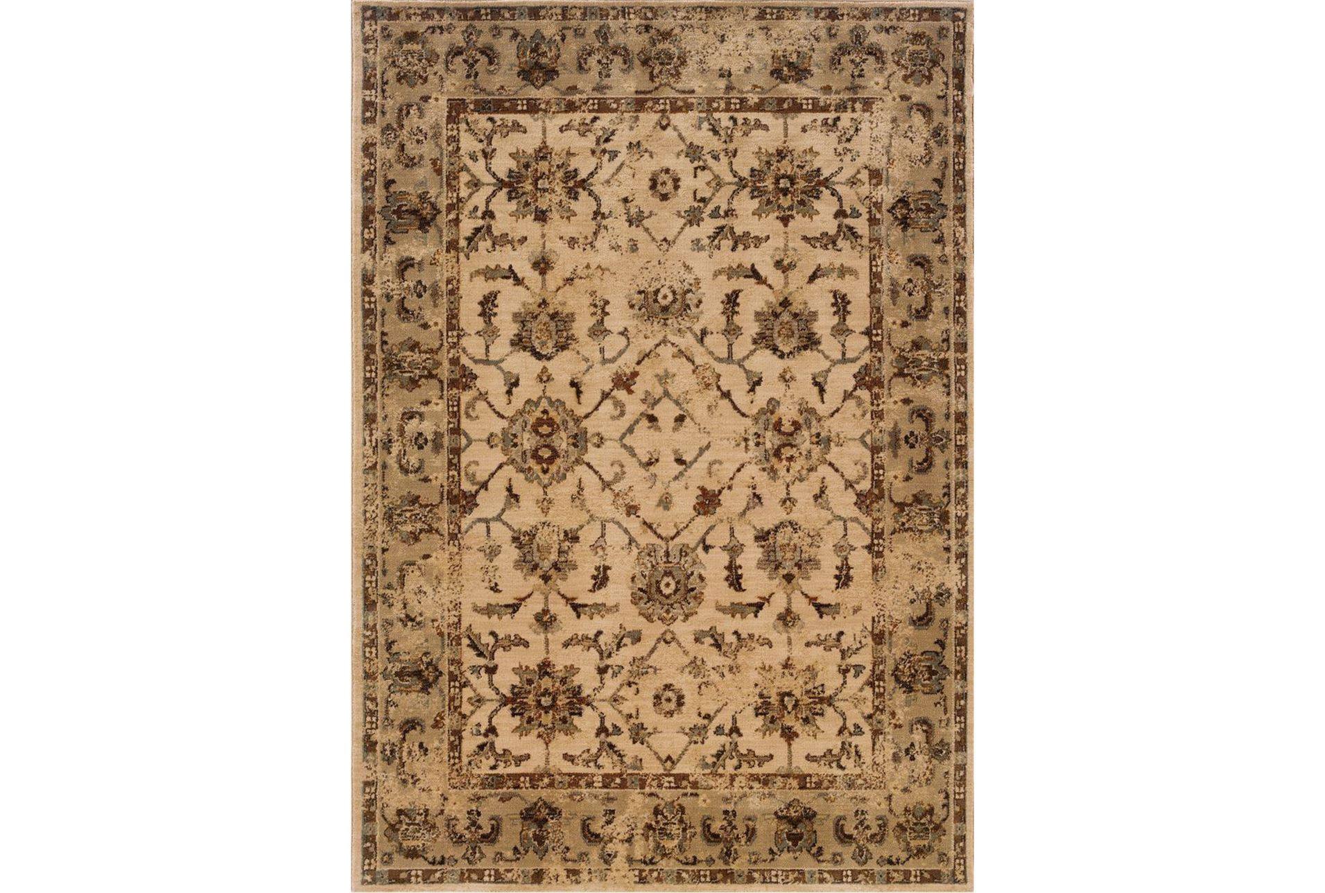 94x130 rug traditions autumn living spaces for Living spaces rugs