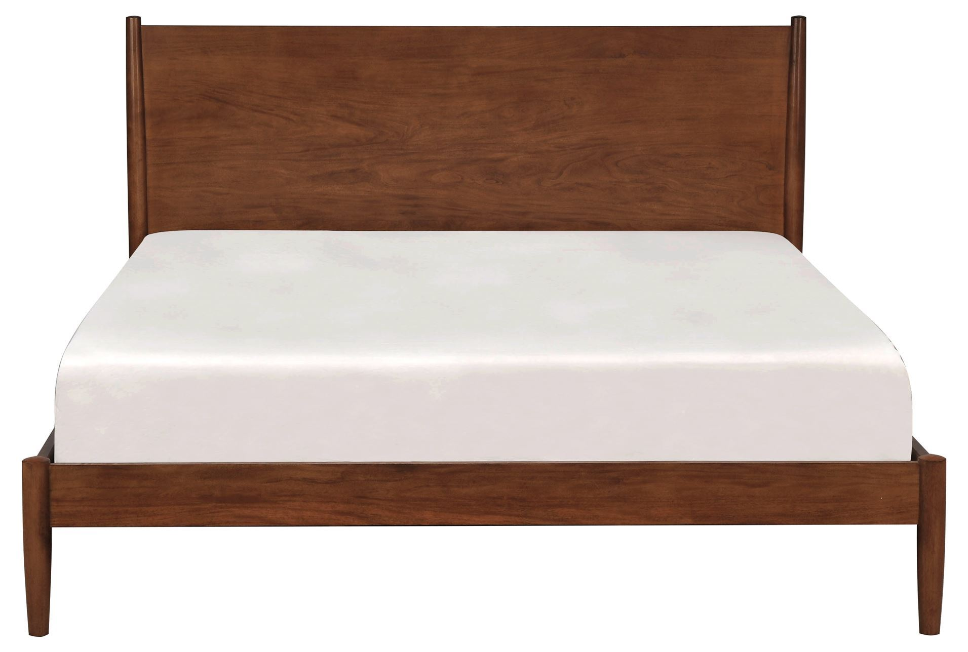 Alton Cherry California King Platform Bed Living Spaces