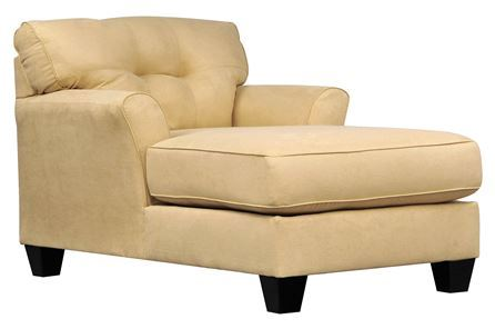 Kylee Gold Chaise Signature