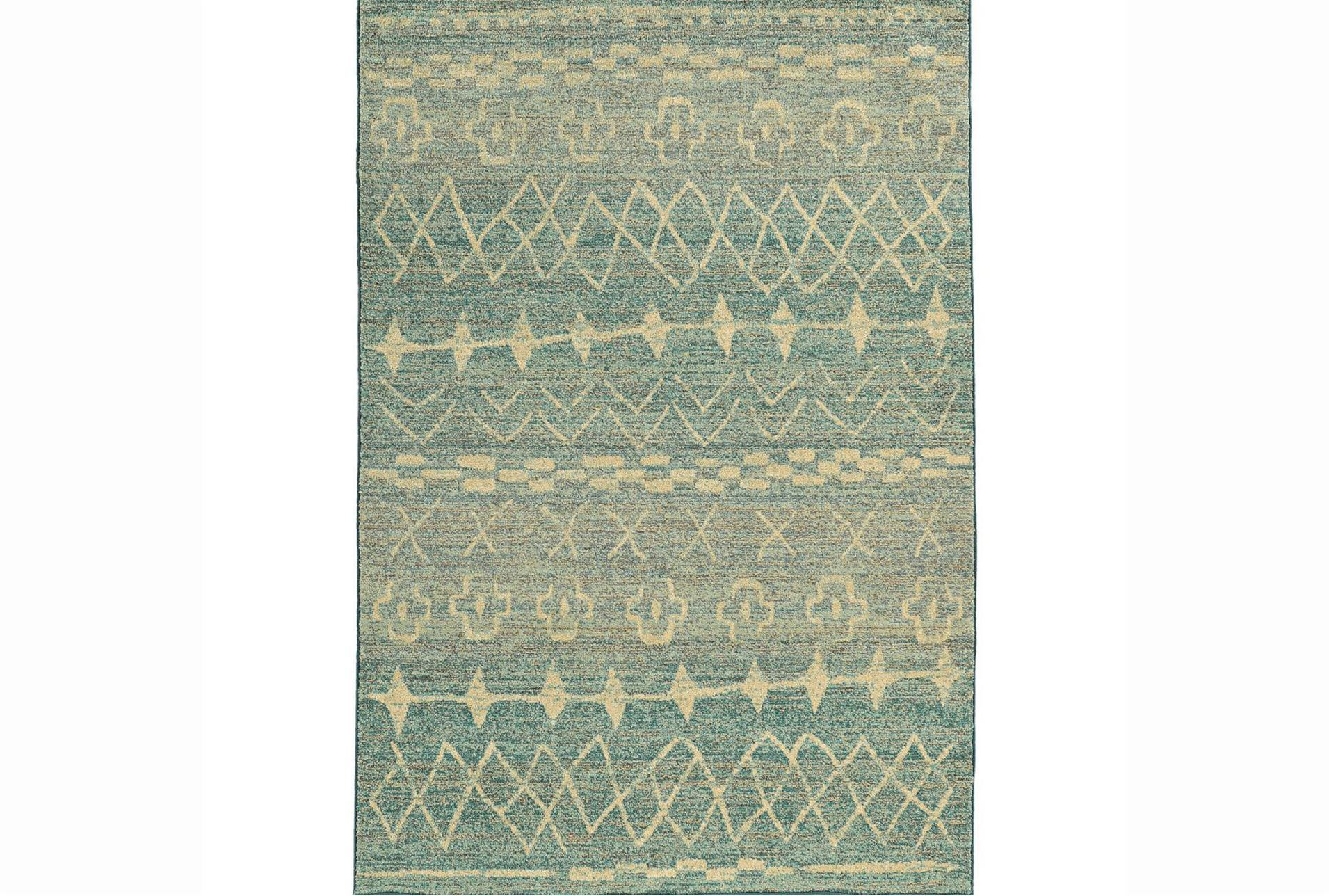 63x90 rug malta seaglass living spaces for Living spaces rugs